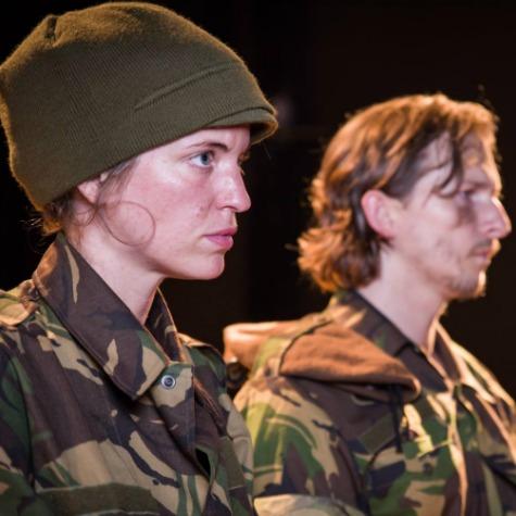 Scene from  Borderlands, Orange Tea Theatre, Amsterdam (2016)