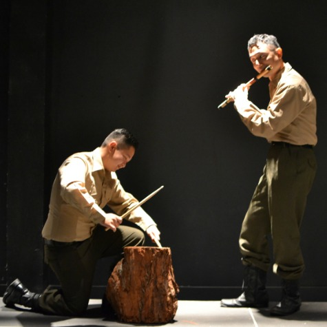 Scene from  All That Remains, Kumu Kahua Theatre (2013)