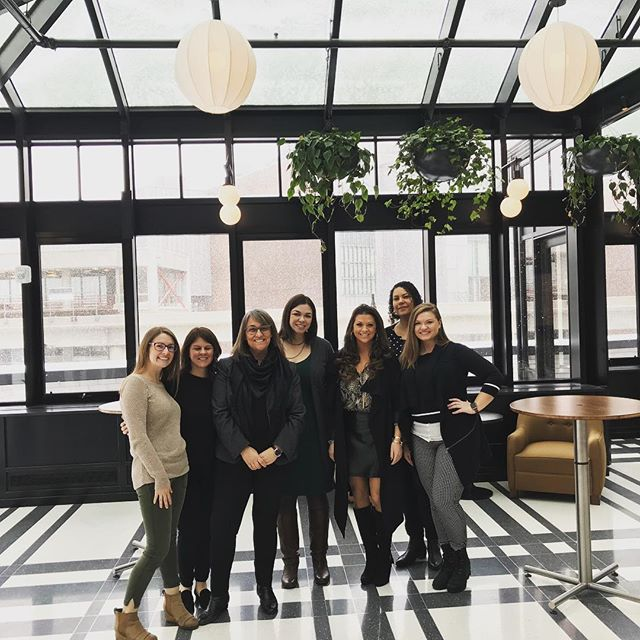 What an amazing afternoon spent with the team touring the new @shinolahotel in downtown Detroit! Every turn we made we were blown away by the amount of thought and detail that went into constructing and designing this building. Thanks to their events team for having us! #jrturnbullevents #eventplanning #detroitevents #shinolahotel #downtowndetroit
