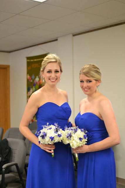 Bridesmaids Hair Makeup Dresses
