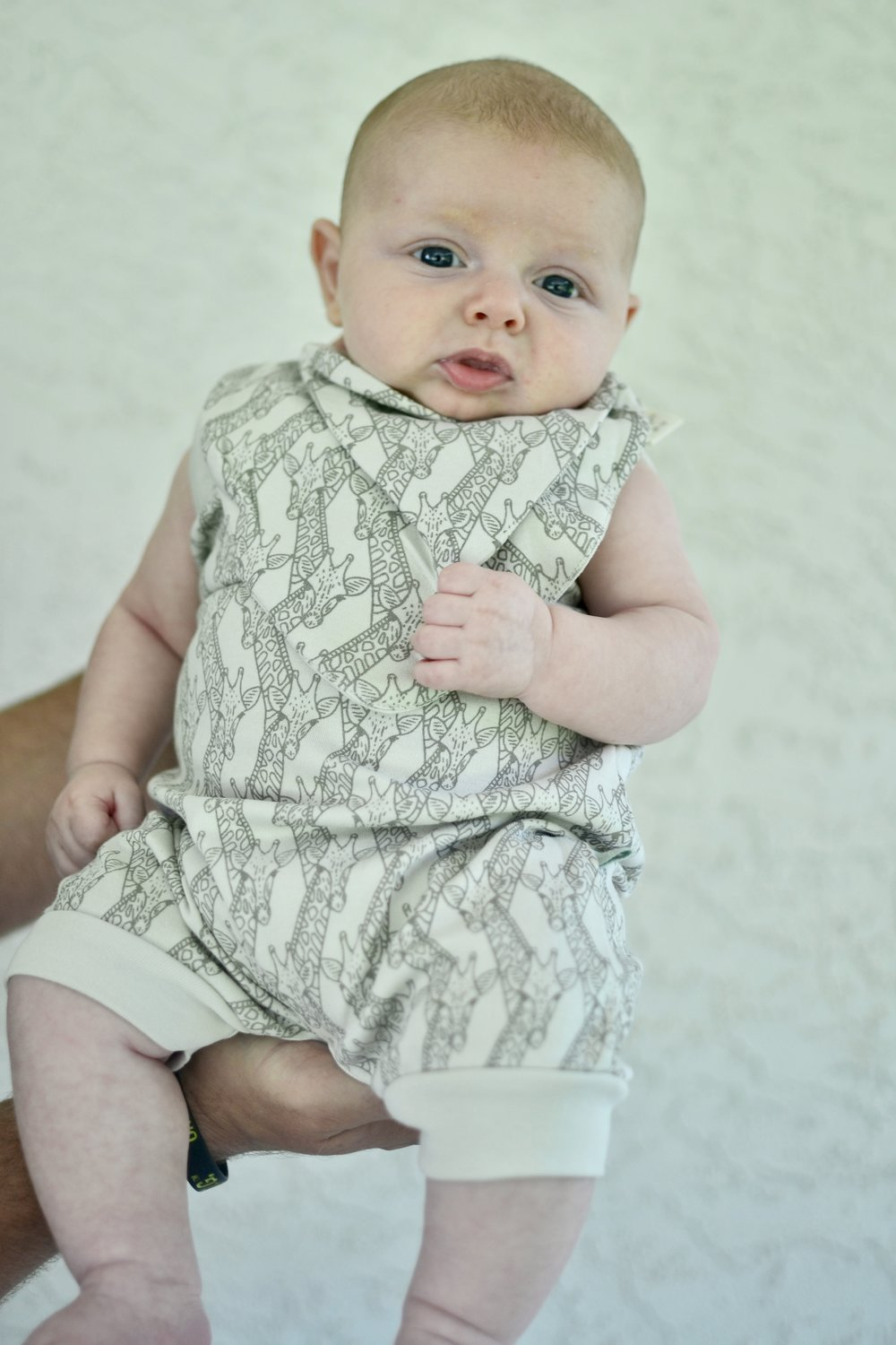 giraffe bandana bib and romper