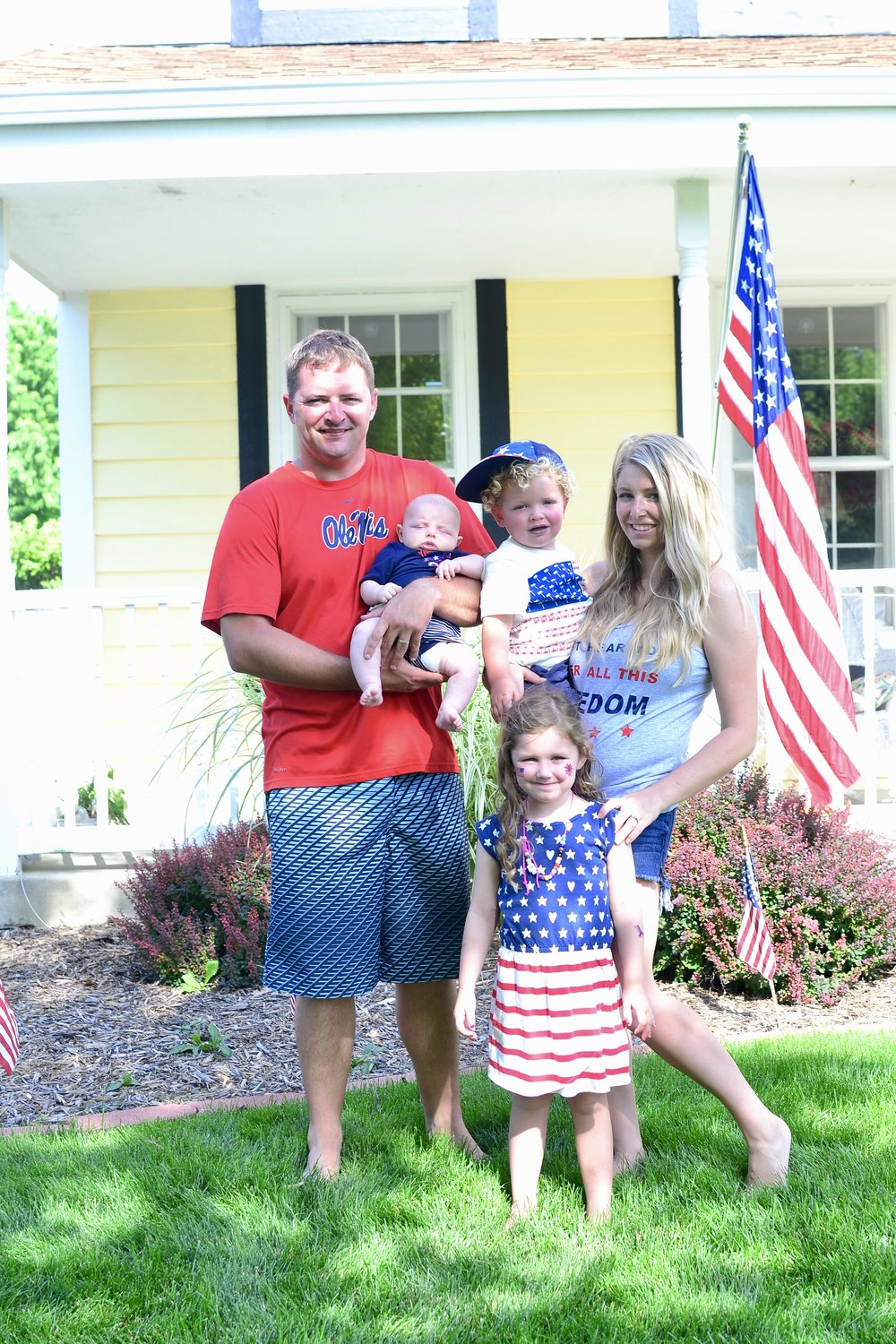 our family on the fourth