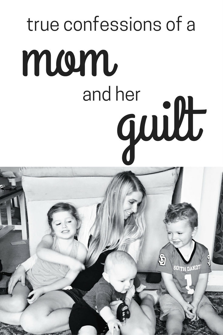 true confessions of a mom and her guilt