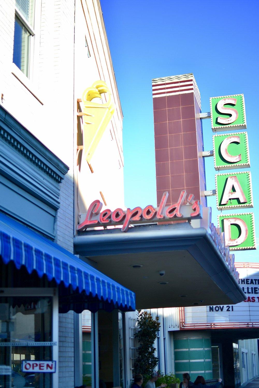 Leopold's Ice Cream Savannah