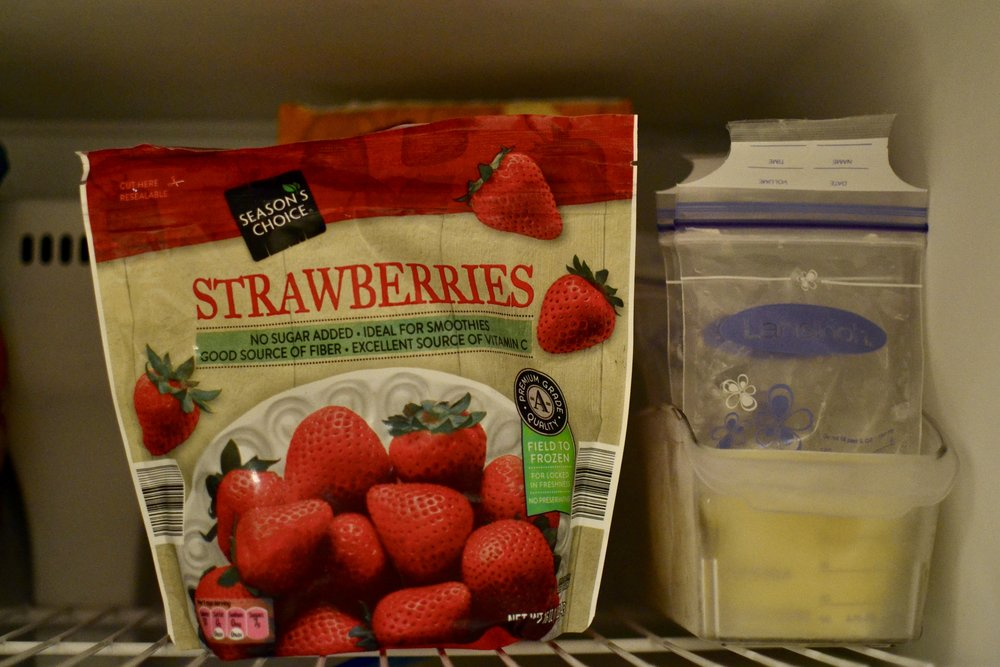 storing breastmilk