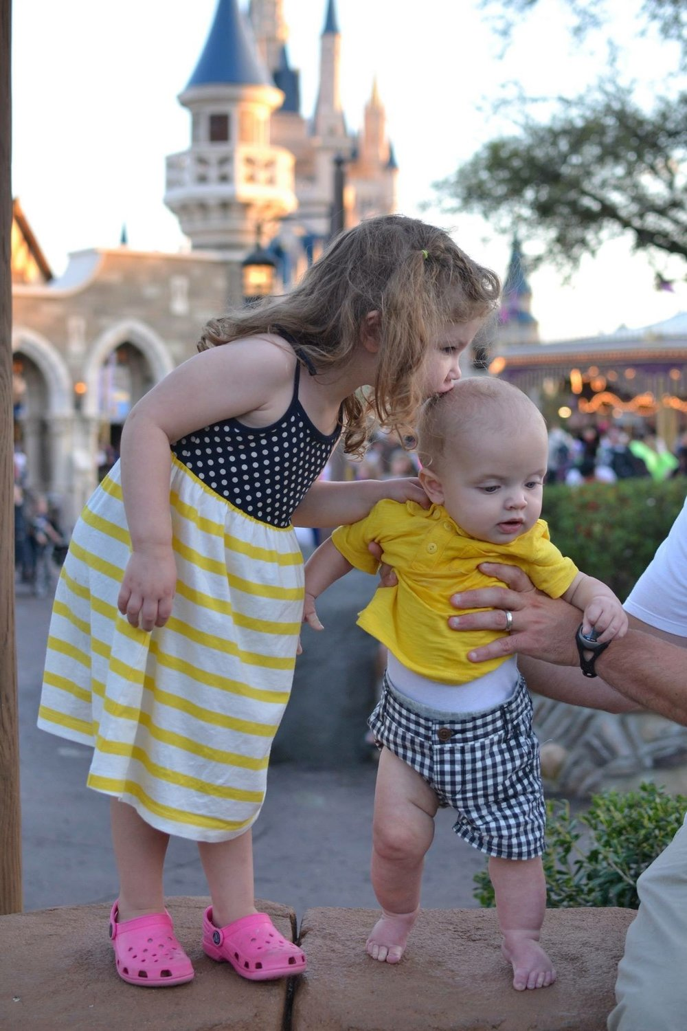 Disney World with a Baby and a Toddler