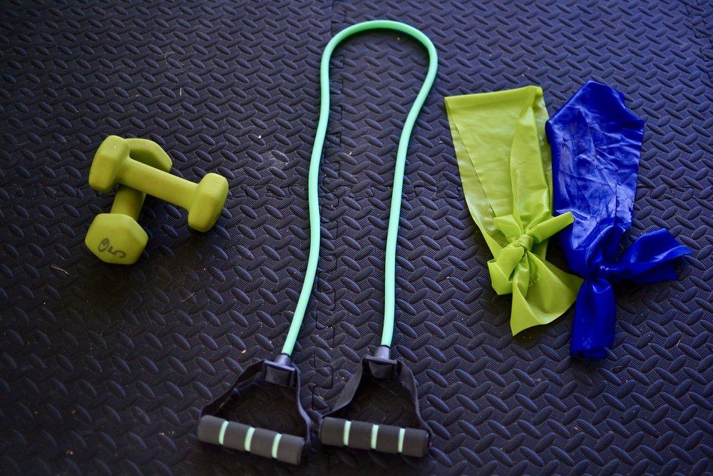 basic home gym equipment
