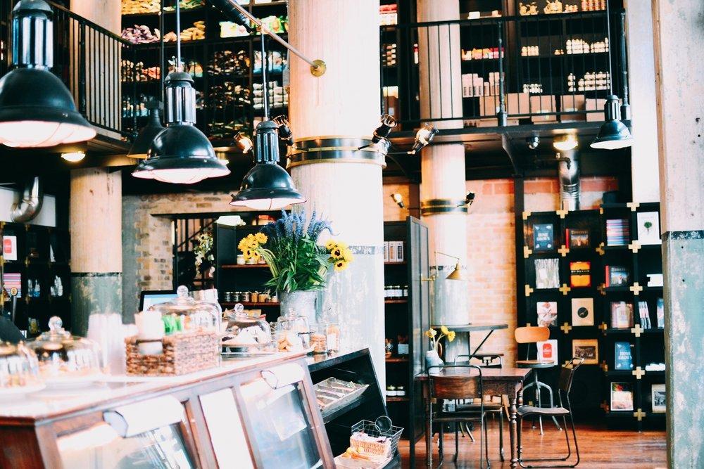 THE LARDER COFFEE SHOP