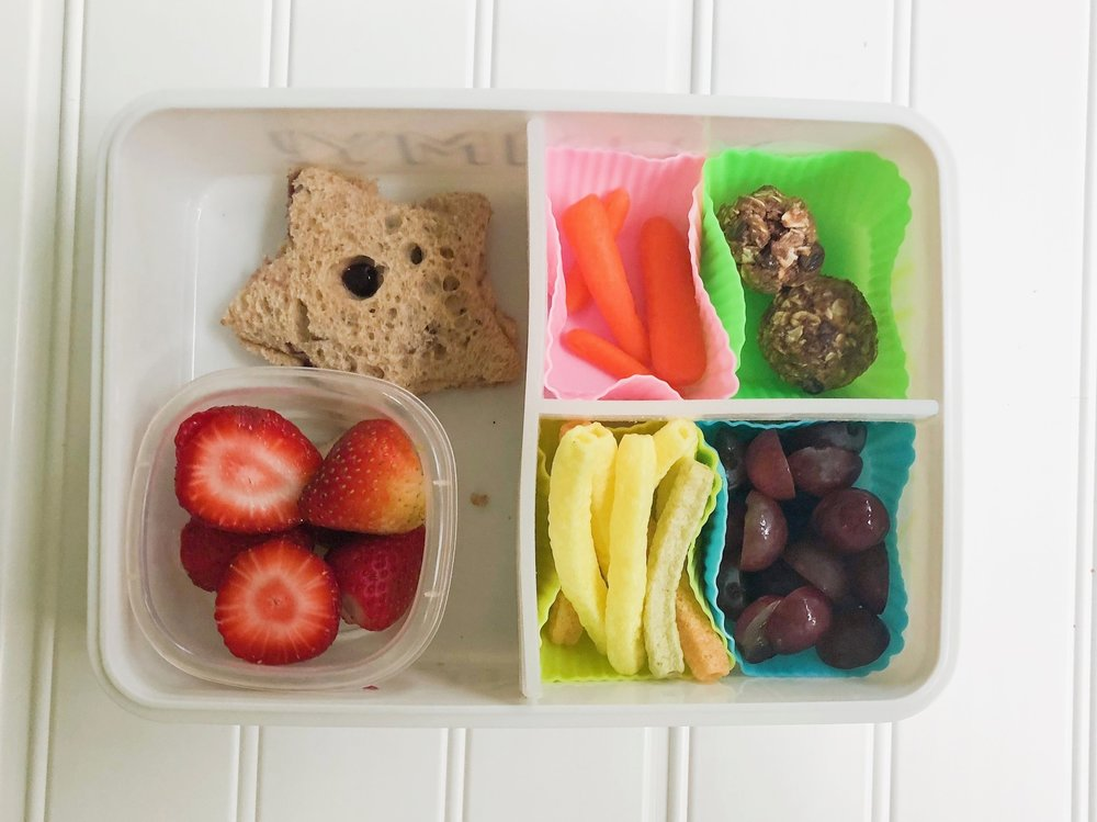 bento box and school lunch ideas for kids