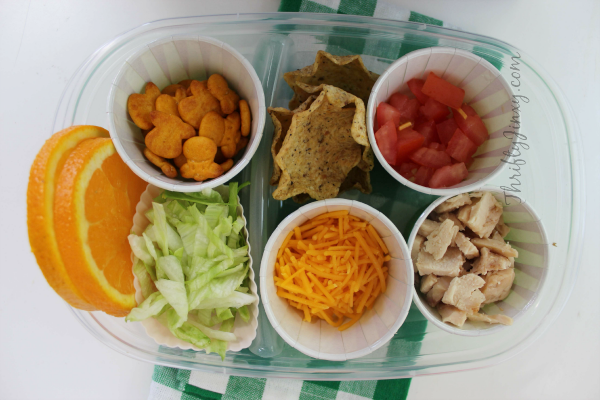 taco bento box lunch