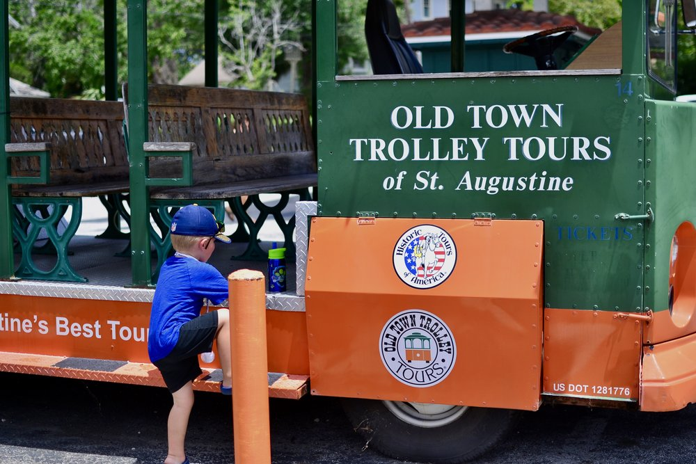 St. Augustine Old Town Trolley Tour