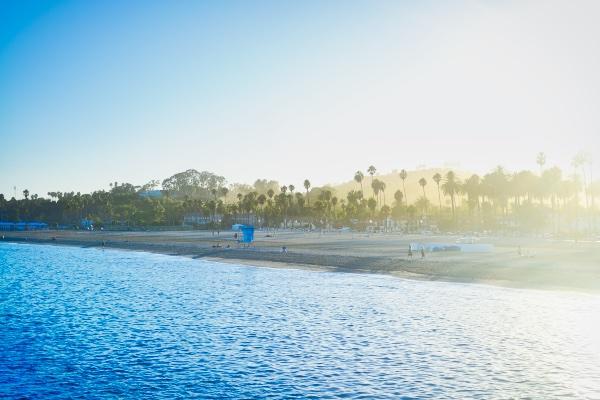 View from Stearns Wharf in Santa Barbara