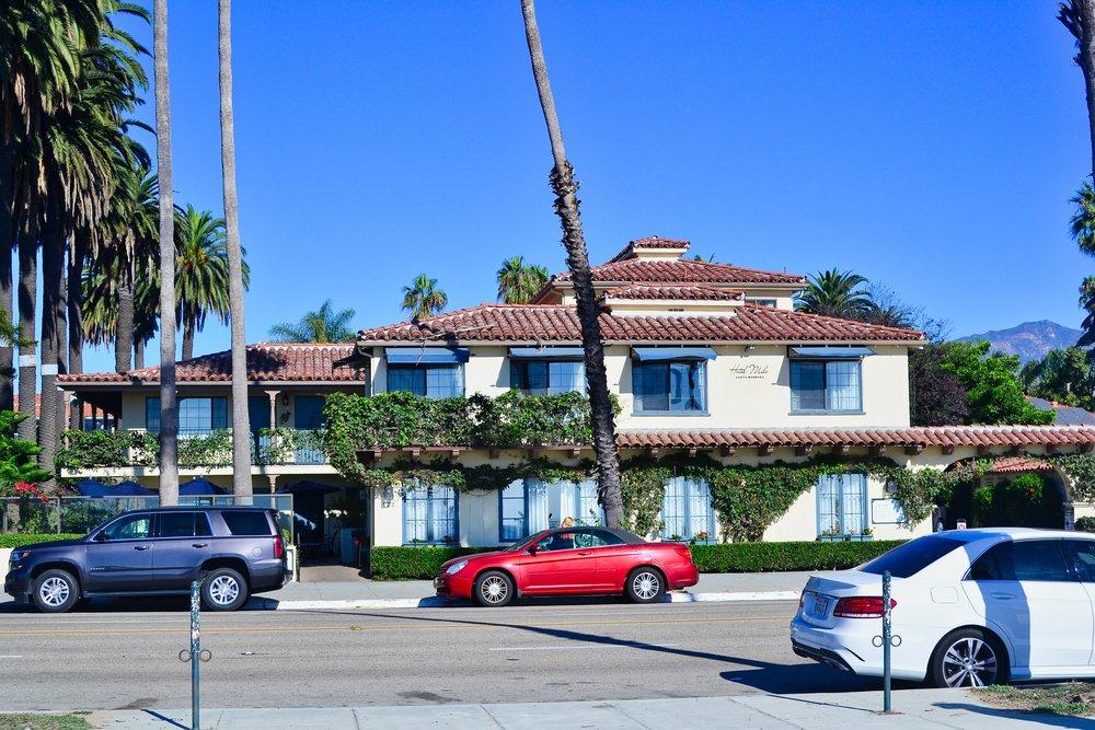 Hotel Milo Santa Barbara Street View