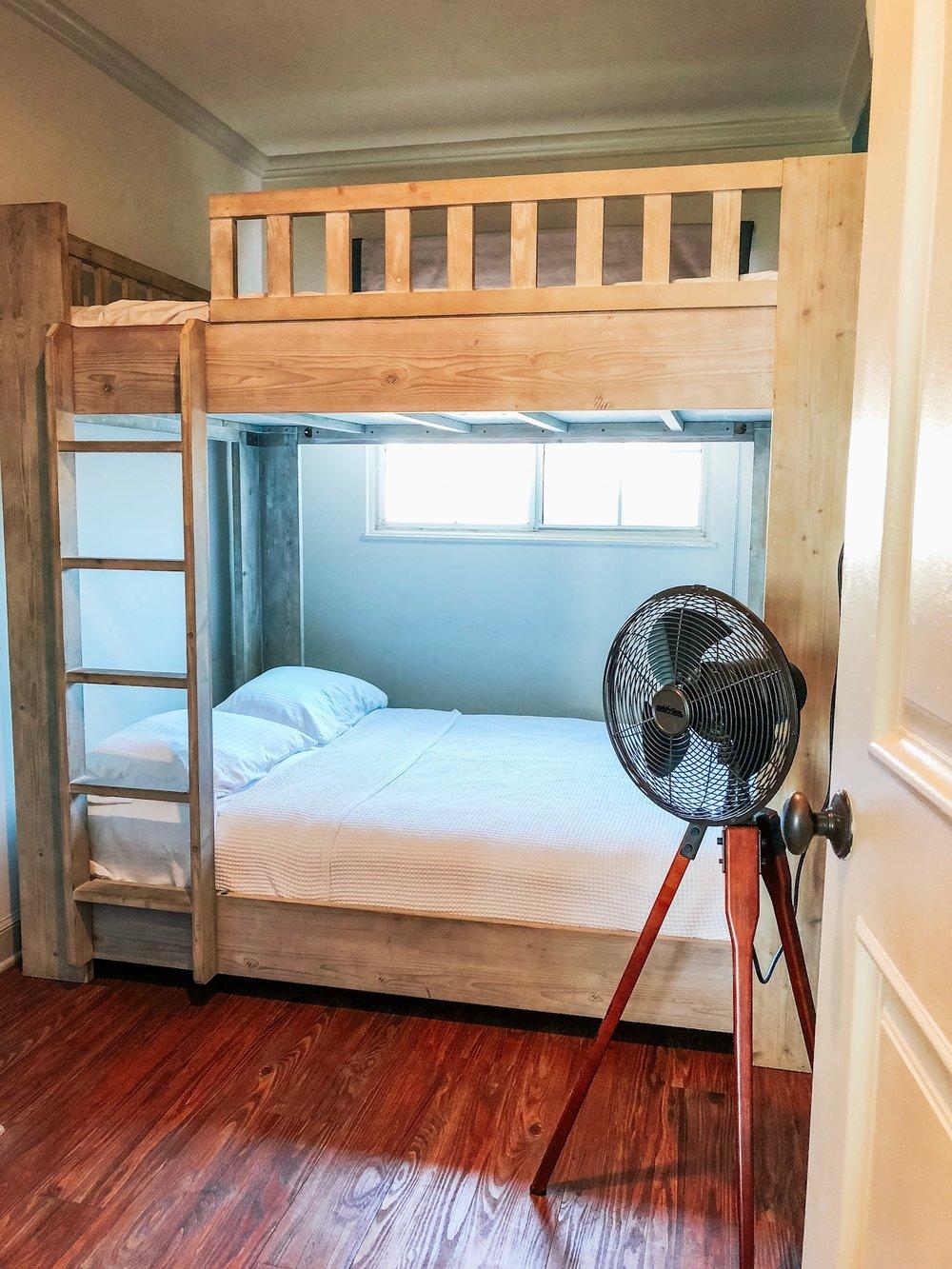 bunk beds Hotel Milo Santa Barbara