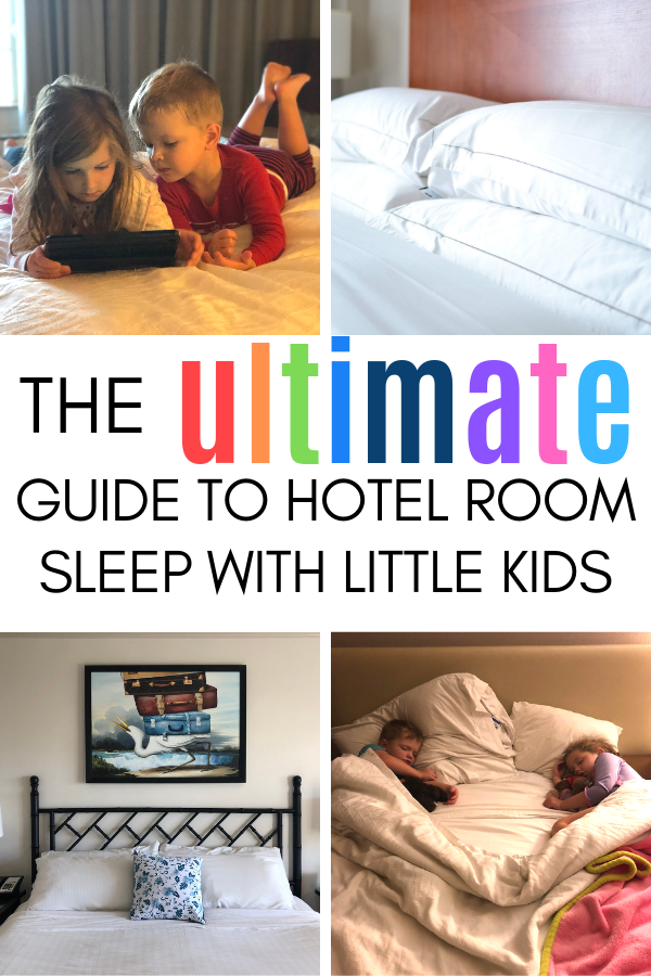 How to gets your babies, toddlers, and small children to sleep in a hotel room at the same time..png