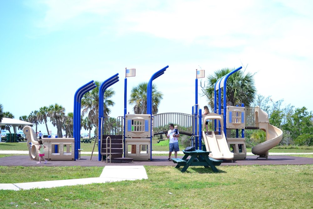 Fort De Soto Park - Pirate Ship Playground