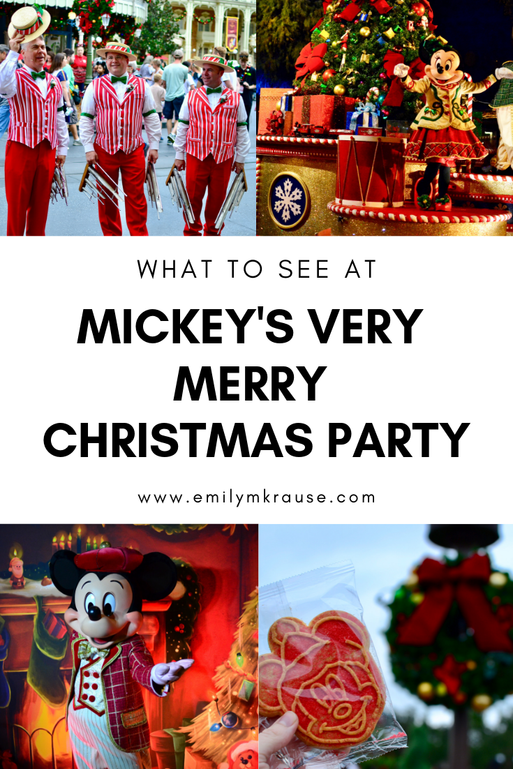 What to see, do, and eat at Mickey's Very Merry Christmas Party. Disney World at Christmas is so magical!.png