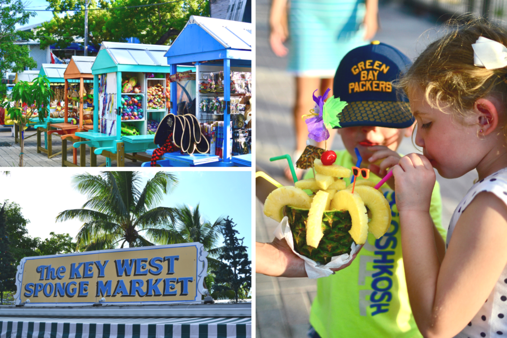 Mallory Square in Key West with Kids