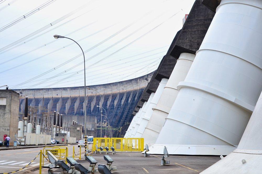 Itaipu Binacional Hydroelectric Dam