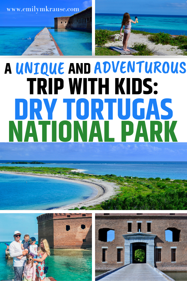Dry Tortugas National Park in Florida is one of the most unique and adventurous trips you can do with little kids..png