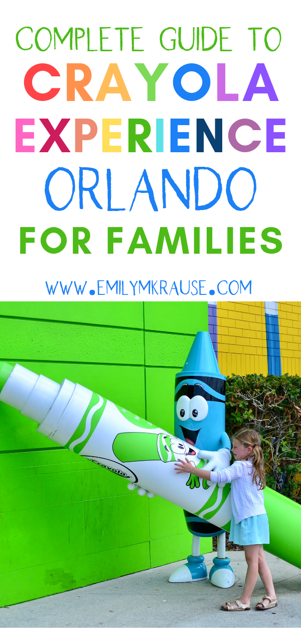 A complete guide for the best things to see and do at Crayola Experience in Orlando. Crayola Experience is perfect for young kids and a fun alternative to Theme parks in Orlando..png