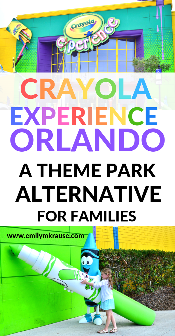 What to do instead of Disney and the theme parks in Orlando? Crayola Experience Orlando is the perfect activity for toddlers in the Orlando area. .png