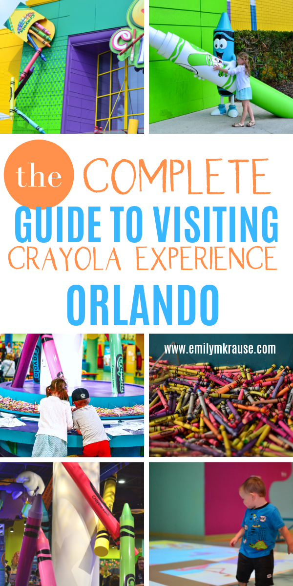 Crayola Experience Orlando Tips for families. Is Crayola Experience Orlando toddler friendly? We think so! Here are the top attractions to do at Crayola..png