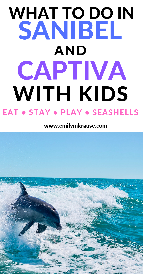 What to do in Sanibel and Captiva with kids, as well as exploring the Fort Myers area with kids. Fort Myers, Sanibel, and Captiva make the perfect laid-back Florida vacation, and you'll find ideal spots for shelling .png