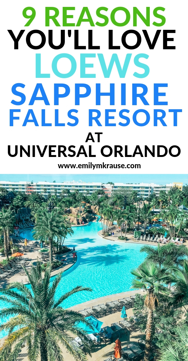 Looking for the best hotel at Universal Orlando? One Universal Orlando family friendly resort that's also budget-friendly is Loews Sapphire Falls Resort. Here are 9 reasons why you'll love Loews Sapphire Falls Resort.jpg