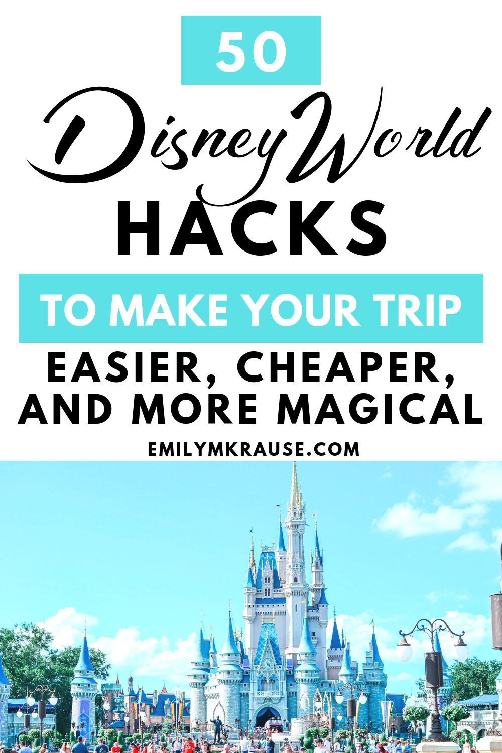 Cut down on Disney stress with these fantastic hacks for planning and enjoying your Disney Trip. Have an easier, cheaper, more magical Disney trip with these first time Disney World hacks. Make the most of your day a.png