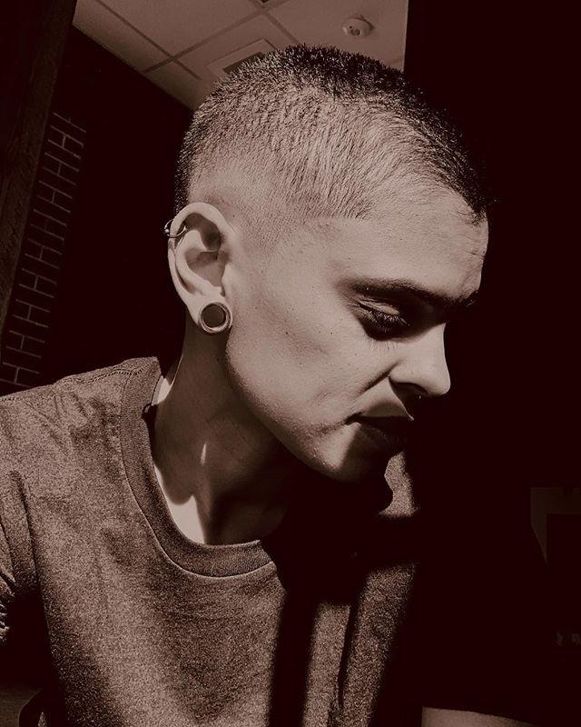 #happysunday  #goodnight  #still #love being #bald  #nohairdontcare