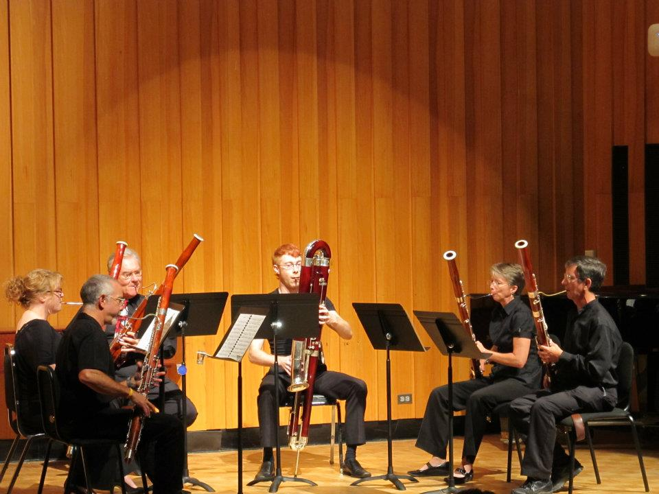 Performing at the International Double Reed Society conference in 2012