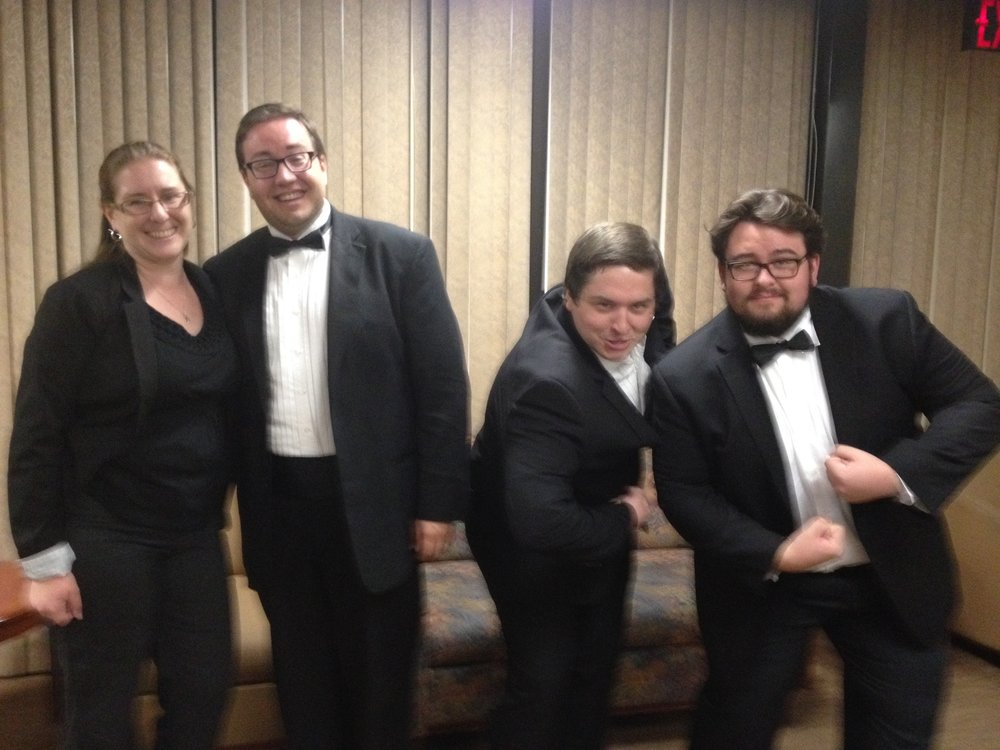 2013-2014 UNLV Bassoons after a UNLV Symphony Orchestra performance
