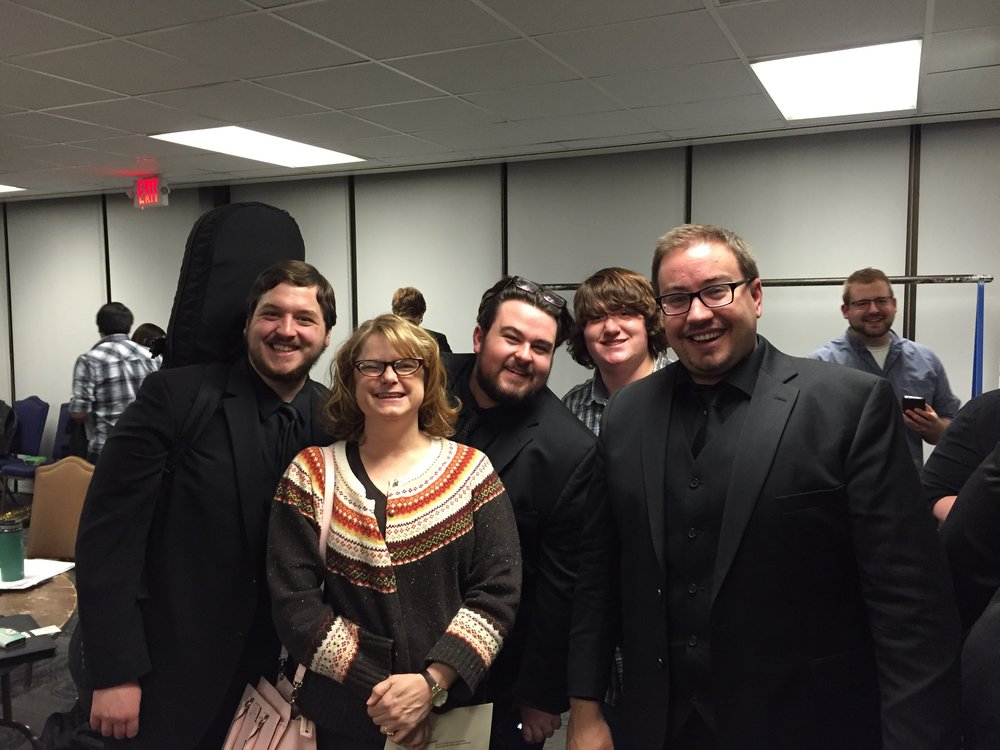 2014-2015 UNLV Bassoons after a UNLV Wind Orchestra concert