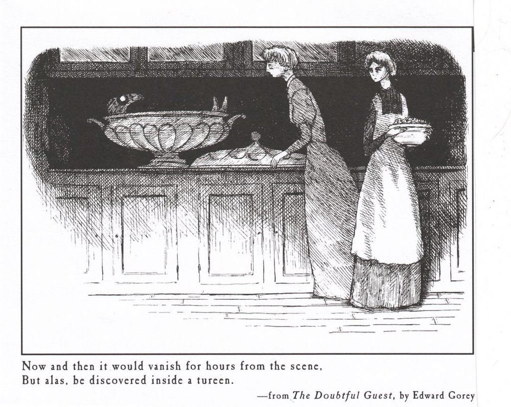 #1 Gorey illustration, in my opinion.
