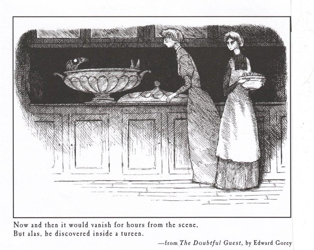 #1 Gorey illustration, in my opinion.