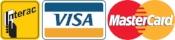 We Accept Visa, Mastercard, Debit