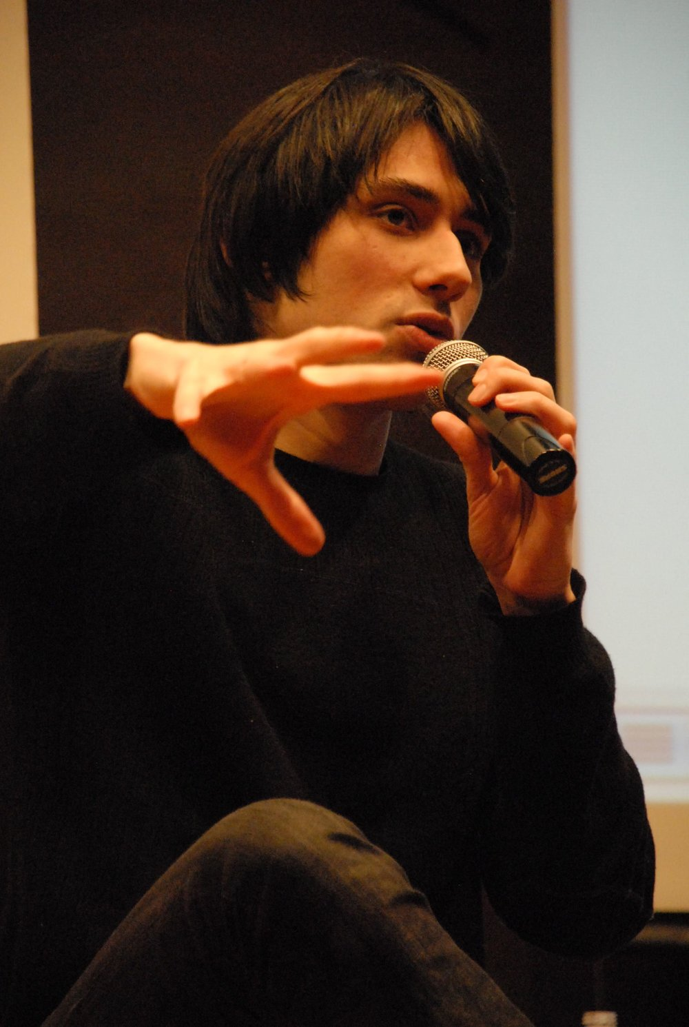 Joseph Keckler, February 1, 2011, photograph by Maleeha El Sadr