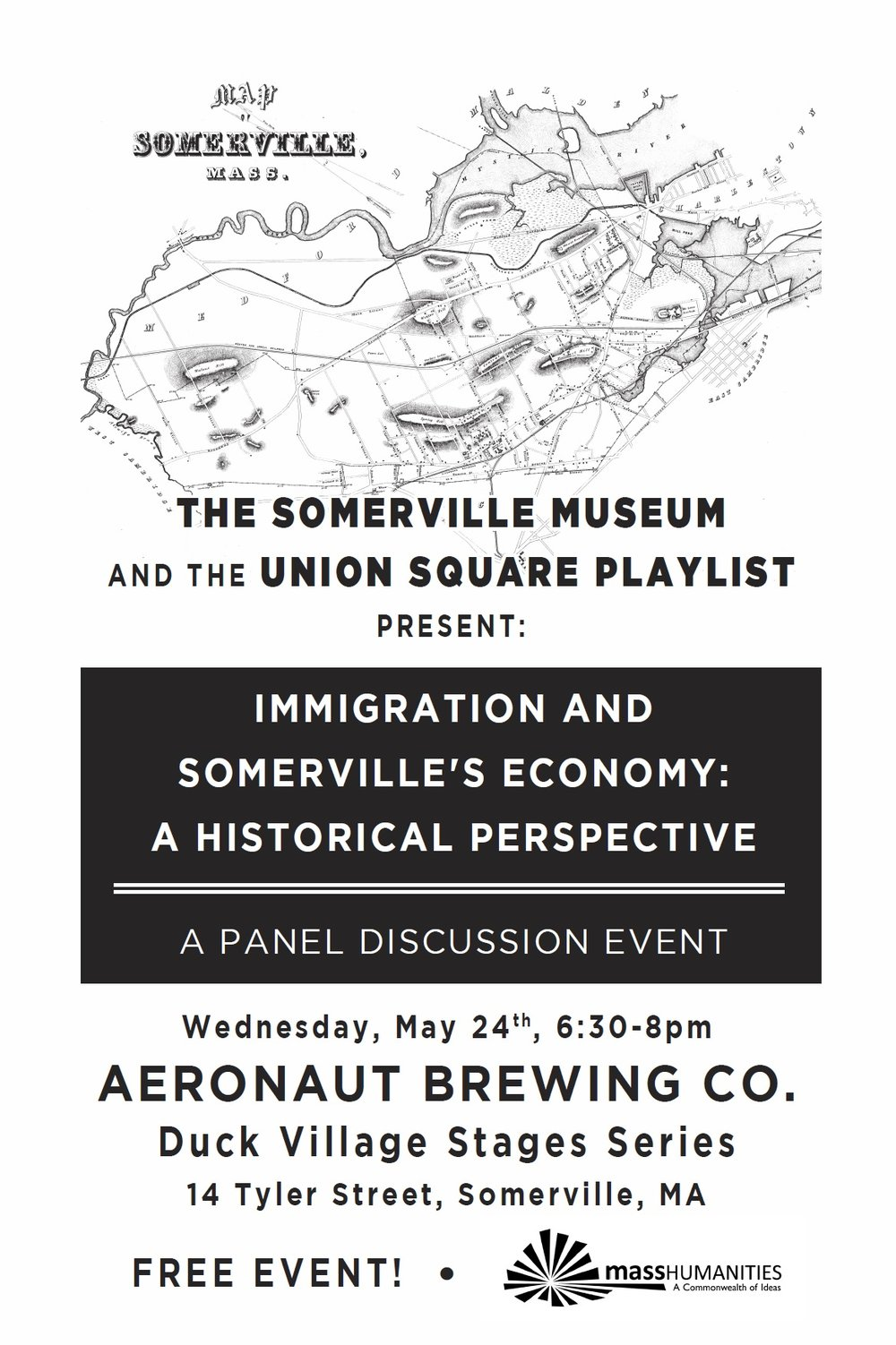 Immigration and Somerville Economy panel at Aeronaut.jpg