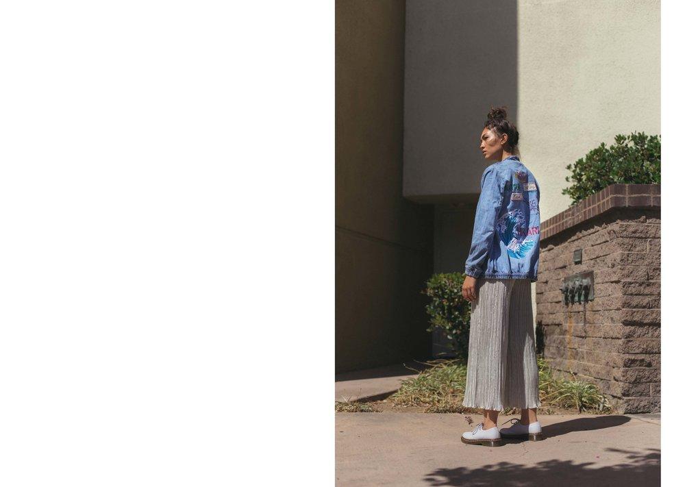 Hikari for Ladygunn Magazine     Sydney @ Nous Model Managment