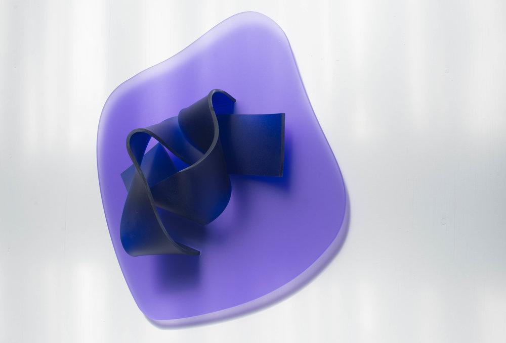 No title (Purple Blue), 2017.