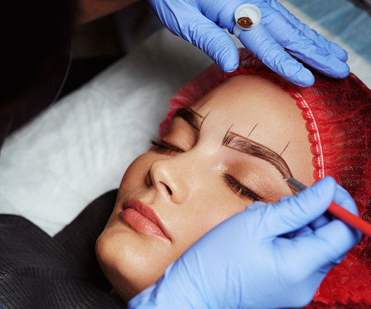 "What is Microblading? - Microblading eyebrows is a form of permanent makeup that creates natural, beautiful eyebrows with a handheld microblade. It's perfect for people who have overplucked or those who want to define, darken or reshape their eyebrows.Microblading originated in Asia over 25 years ago and has gone by many names: eyebrow embroidery, feather touch, microstroking and even ""the Japanese Method."