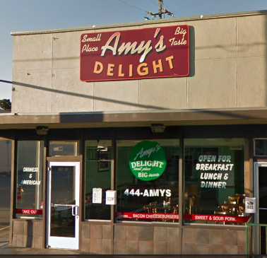 Amy's Delight from Google Maps