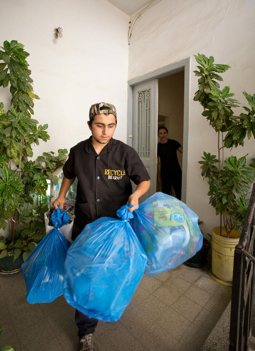 Recycle Beirut Employee