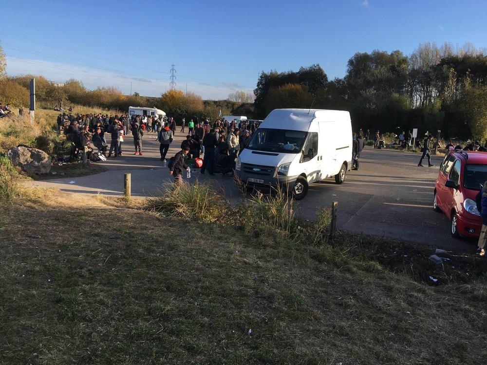 Humanity's Heart volunteers arrive in Calais.jpg