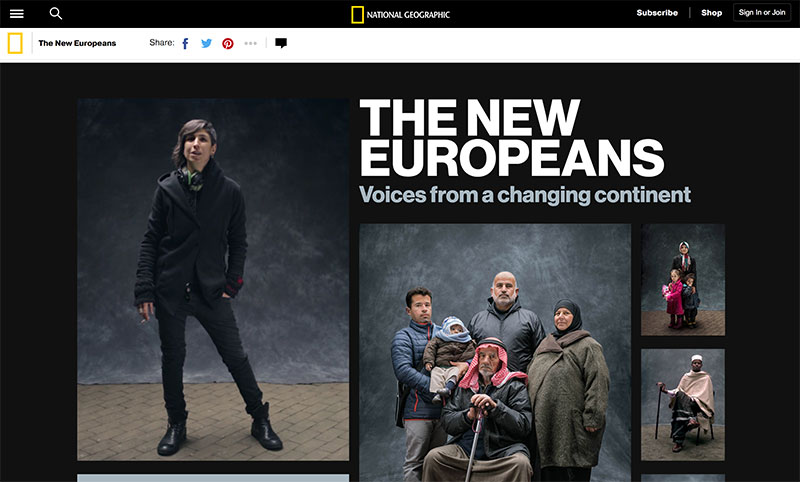 National Geographic New Europeans Article