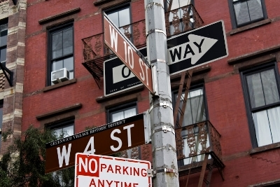 Intersection of West 4th Street & West 10th Street