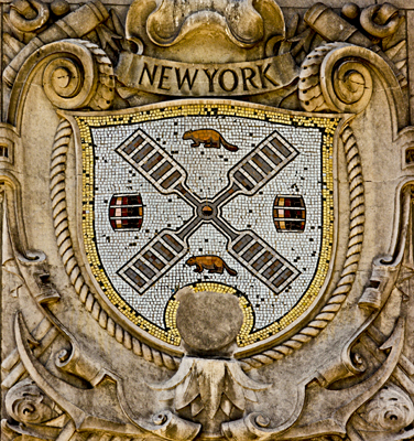New York City Shield (on the International Mercantile Marine Company Building)