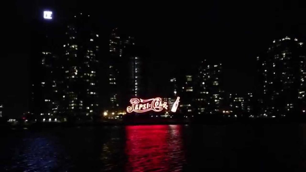 Landmarked Pepsi-Cola sign in Long Island City