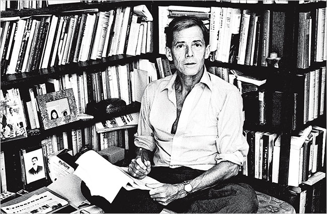 James Merrill, American poet whose boyhood home was 18 West 11th Street